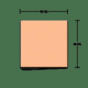 กระเบื้องดินเผา สีคาปูชิโน่ 20x20