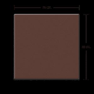 กระเบื้องดินเผา สีช็อกโกแลต 30x30