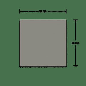 กระเบื้องดินเผา สีเกรย์ 20×20