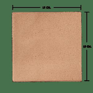กระเบื้องดินเผา สีกลีบบัว 15x15