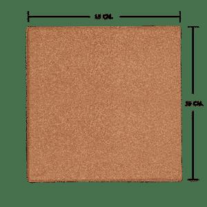 กระเบื้องดินเผา สีพวงแสด 15x15