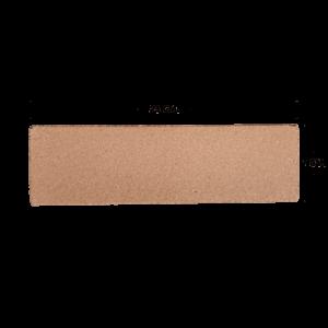 กระเบื้องดินเผา สีกลีบบัว 7x23
