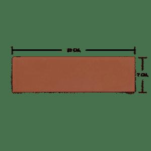 กระเบื้องดินเผา สีธรรมชาติ 06